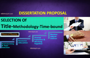 Dissertation reports for mba