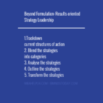 Beyond Formulation: Results-oriented Strategy Leadership strategy Strategy strategy leadership 150x150