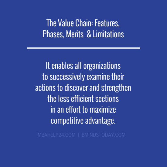 value-chain-features-limitations The Value Chain: Features, Phases, Merits  & Limitations The Value Chain: Features, Phases, Merits  & Limitations value chain features limitations